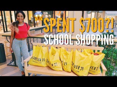 Forever 21 TOOK ME BACK TO SCHOOL SHOPPING | $700 SPENT SHOPPING SPREE