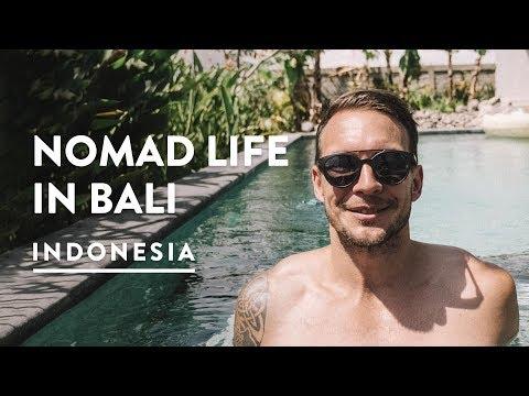 A DAY IN THE LIFE - CANGGU DIGITAL NOMAD | Bali Travel Vlog 144, 2018