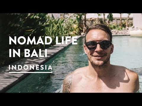 A DAY IN THE LIFE  CANGGU DIGITAL NOMAD  Bali Travel Vlog 144, 2018