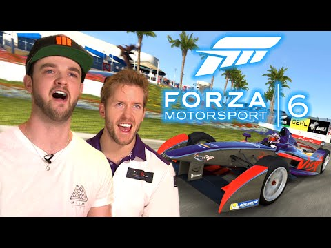 EPIC LAP BATTLES: Ali-A vs Sam Bird! - Formula E - Forza Motorsport 6