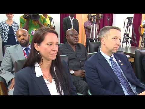 (ERSTWHILE)   VICE PRESIDENT MEETS US SENATORS AND CONGRESSMEN_AKM