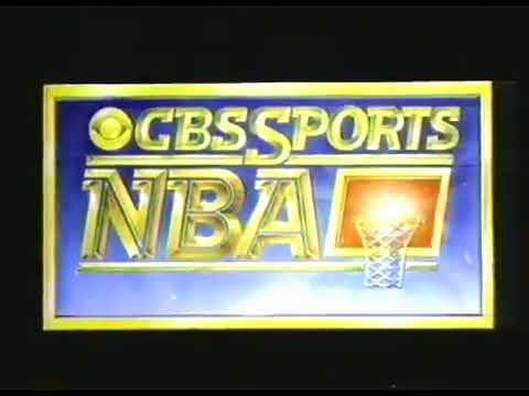 1986 NBA on CBS - Rockets vs Celtics - Finals Game 2 Intro