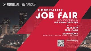 Hospitality Job Fair 2019 - Ngày Hội Tuyển Dụng Nhà Hàng Khách Sạn | Hướng Nghiệp Á Âu