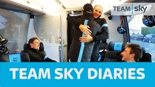 Team Sky Diaries Episode 1 – Geraint Thomas wins E3