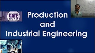 Production and Industrial Engineering  for GATE | SSC JE | ECE | PSU  by Vivek Sir