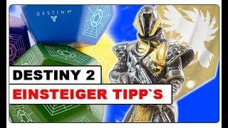 Destiny 2 - Einsteiger Tipps um schnell zu leveln + Legendäre Bruchstücke