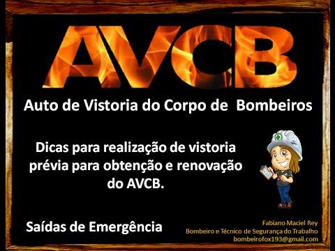 AVCB - Dicas para vistoria prévia - Aula 05 - Saídas Emergência