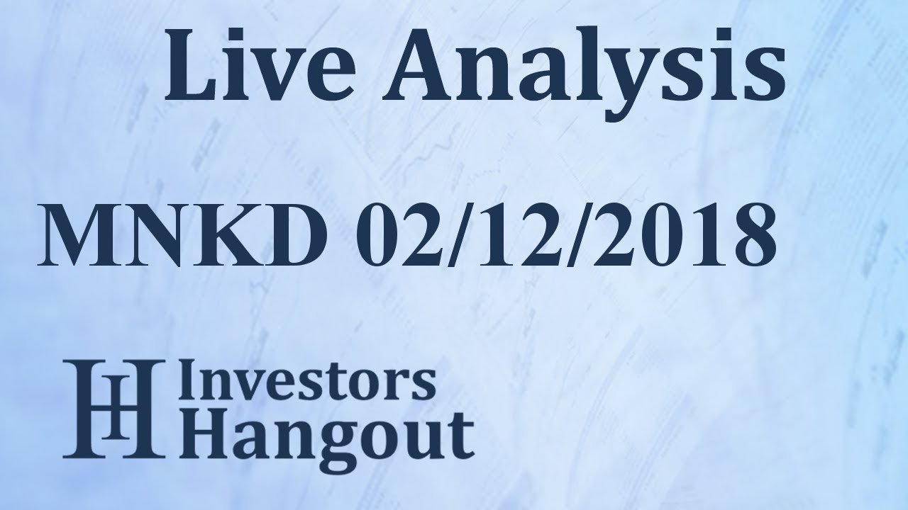 Mnkd Stock Quote | Mnkd Stock Mannkind Corporation Live Analysis 02 12 2018 Youtube