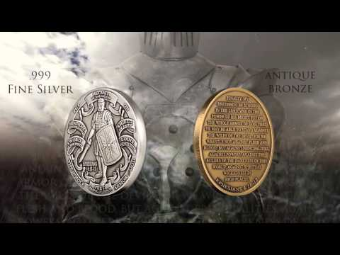 Northwest Territorial Mint's Armor of God Challenge Coin