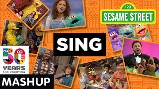 Sesame Street: Sing Through the Years Mashup | #Sesame50