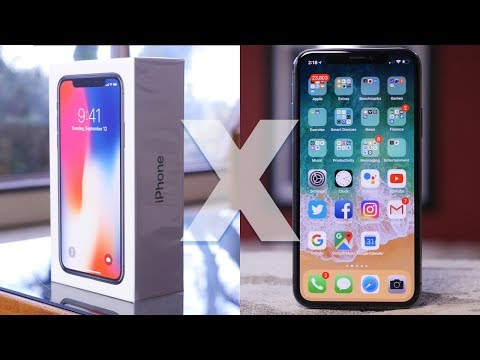 Download Youtube: Apple iPhone X Unboxing and First Impressions