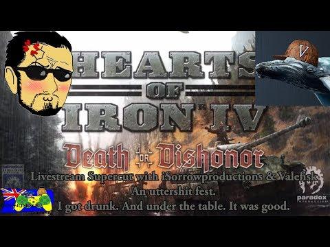 HOI4 Death or Dishonor - Livestream Supercut w/ iSorrowproductions & Valefisk