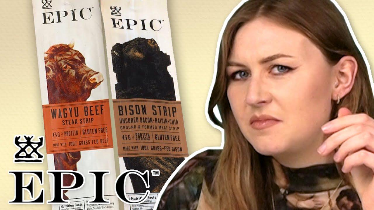 Irish People Try Epic Beef Jerky