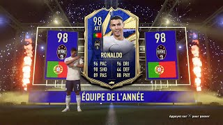 😱 CRISTIANO RONALDO TOTY 98 + MBAPPE TOTY 97 IN A PACK !!! TOP 5 BEST PACK OPENING! FIFA 21 ITA #130