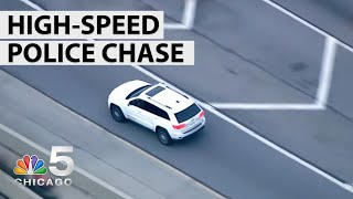 Full Video: Police Chase Follows Lawndale Shooting | NBC Chicago