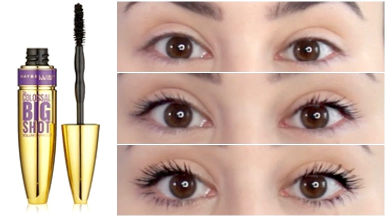 3f2368dbc8d Maybelline The Colossal Big Shot Mascara | First Impression & Demo - YouTube