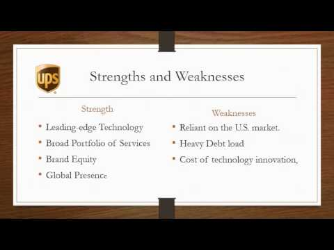 United Parcel Services (UPS) Presentation