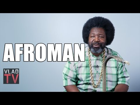 Afroman on Writing
