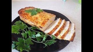 Мясной хлеб с кукурузой.  Закуска из фарша