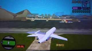 GTA Vice City Stories (PSP) Mit großem Flugzeug fliegen (HD)