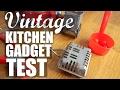 VINTAGE KITCHEN GADGET Test | part 2 | Do They Work?