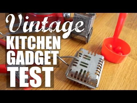Download Youtube: VINTAGE KITCHEN GADGET Test | part 2 | Do They Work?
