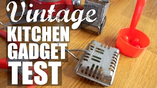Download VINTAGE KITCHEN GADGET Test | part 2 | Do They Work? Mp3 and Videos