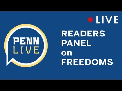 LIVE: Readers Panel on Freedoms in PA and USA