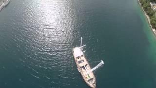 Vela Luka, Korčula - Hrvatska iz zraka, panoramski video(, 2015-07-05T08:15:11.000Z)