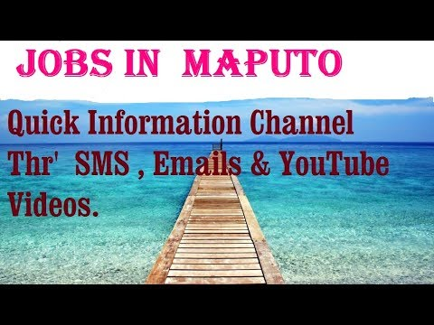 Jobs in  MAPUTO     for freshers & graduates. industries, companies. MOZAMBIQUE
