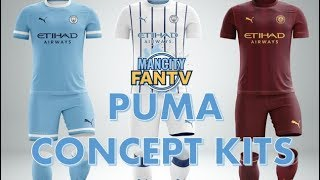 MAN CITY - PUMA CONCEPT KITS