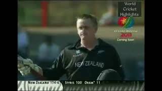 Scott Styris 141 (125) vs Sri Lanka | 2003 Cricket World Cup | Bloemfontein