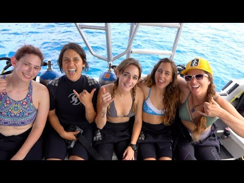 Girl Scuba Squad In Cozumel (DRENCHED Ep. 49)