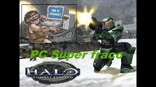 como istalar Halo 1 pc Supre fraco