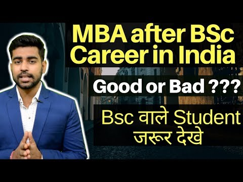 MBA after BSc | Career After Bsc | Bsc Careers | Jobs