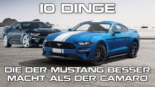 10 Dinge, die der Mustang besser macht als der Camaro