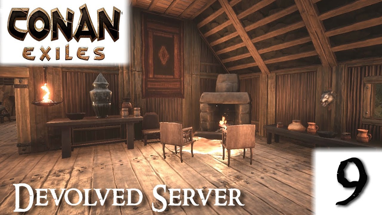 conan exiles how to make items as decoration