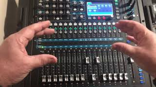 FX send and return signal path tutorial. Allen & Heath QU series