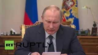 Russia: Putin touts the economic development of Russia