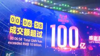In 6 minutes 58 seconds, Chinese spend $1.47 bln in 'Singles Day' shopping event
