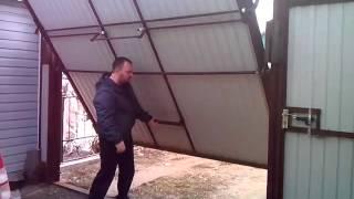 видео Заказать распашные ворота