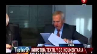 Reporte sobre el perfil de la Industria Textil de la ciudad presentado en el CES porteño