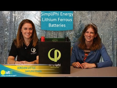 Simpliphi Power Lithium Ferrous Batteries