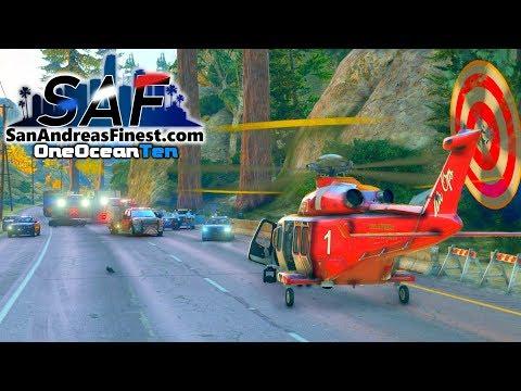 SA'F #172 - Freeway Landing Zone! | GTA V RP