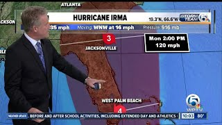 Category 5 Irma's winds remain at 185 mph, Hurricane Jose forms thumbnail
