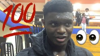 "Zion Williamson : ""I"