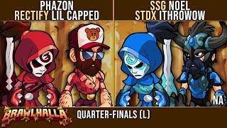 Phazon & Lil Capped vs noel & ithrowow Losers Top 6