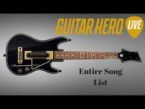 Every Sg in Guitar Hero !