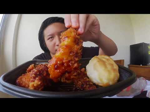 KFC's Nashville Hot Chicken Tenders REVIEW! #124