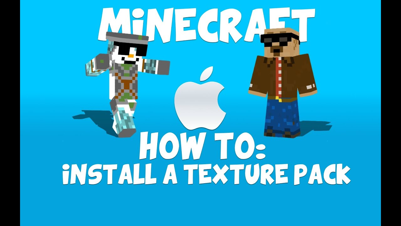 How to: Install a texture pack/resource pack on Minecraft 2014 (MAC) - YouTube